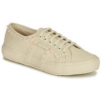 Schuhe Damen Sneaker Low Superga 2750 COTW LACEPIPING Beige