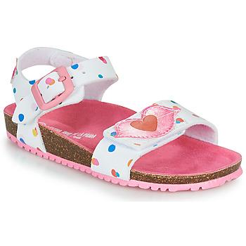 Schuhe Mädchen Sandalen / Sandaletten Agatha Ruiz de la Prada BIO Weiß