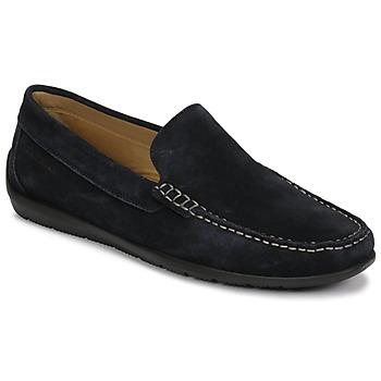 Schuhe Herren Slipper Lumberjack LEMAN Marineblau