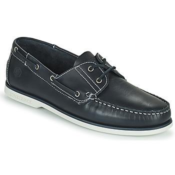Schuhe Herren Bootsschuhe Lumberjack NAVIGATOR Marineblau