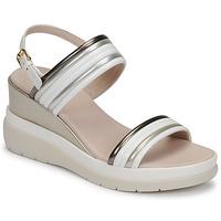 Schuhe Damen Sandalen / Sandaletten Lumberjack ELAINE Weiß / Beige