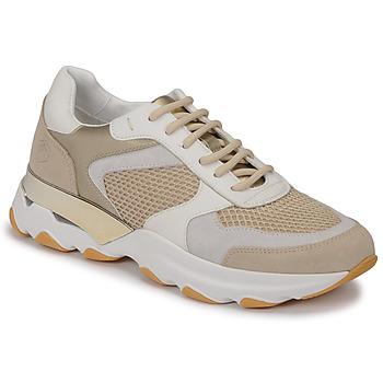 Schuhe Damen Sneaker Low Lumberjack SWAY Beige / Weiß