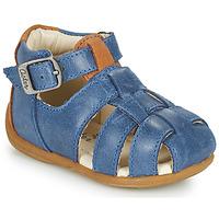 Schuhe Jungen Sandalen / Sandaletten Aster ODASSIO Marineblau