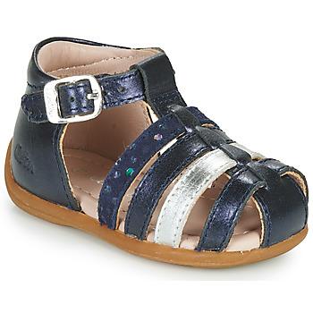 Schuhe Mädchen Sandalen / Sandaletten Aster OFILIE Marineblau