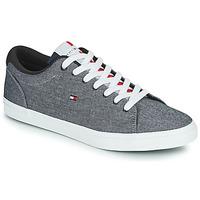 Schuhe Herren Sneaker Low Tommy Hilfiger ESSENTIAL CHAMBRAY VULCANIZED Grau