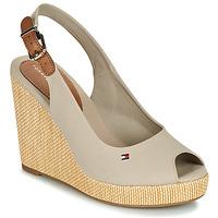 Chaussures Femme Sandales et Nu-pieds Tommy Hilfiger ICONIC ELENA SLING BACK WEDGE