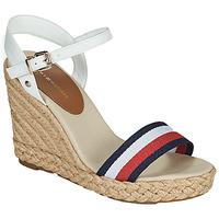 Chaussures Femme Sandales et Nu-pieds Tommy Hilfiger SHIMMERY RIBBON HIGH WEDGE