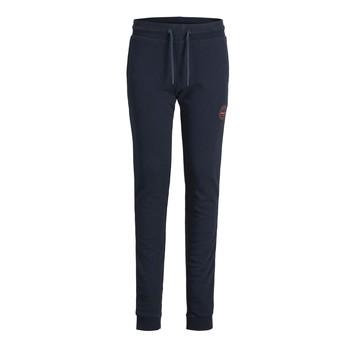 Kleidung Jungen Jogginghosen Jack & Jones JJIGORDON JJSHARK SWEAT PANT Marineblau