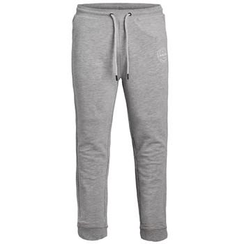 Kleidung Jungen Jogginghosen Jack & Jones JJIGORDON JJSHARK SWEAT PANT Grau