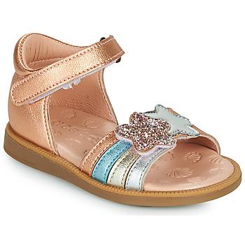 Schuhe Mädchen Sandalen / Sandaletten Acebo's 1228-RAME Bronze