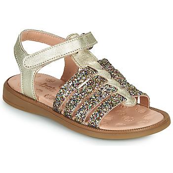 Schuhe Mädchen Sandalen / Sandaletten Acebo's 5498GE-PLATINO-J Golden