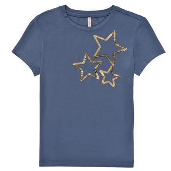 Vêtements Fille T-shirts manches courtes Only KONMOULINS STAR