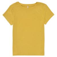 Kleidung Mädchen T-Shirts Only KONMOULINS Gelb