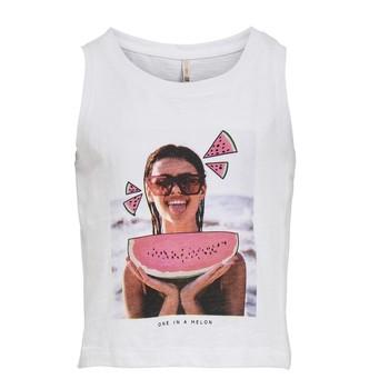 Vêtements Fille Débardeurs / T-shirts sans manche Only KONLANA