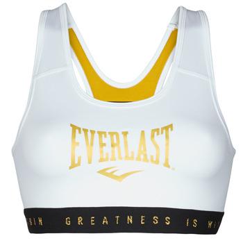Kleidung Damen Sport BHs Everlast EVL BRAND BR Weiß / Gold