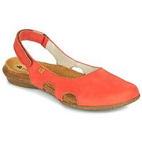 Schuhe Damen Sandalen / Sandaletten El Naturalista WAKATAUA Orange