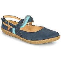 Schuhe Damen Ballerinas El Naturalista CORAL Marineblau