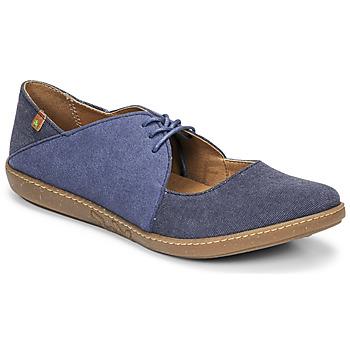 Schuhe Damen Ballerinas El Naturalista CORAL Blau