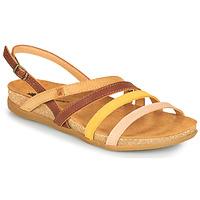 Schuhe Damen Sandalen / Sandaletten El Naturalista ZUMAIA Braun, / Gelb