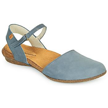 Schuhe Damen Sandalen / Sandaletten El Naturalista WAKATAUA Blau