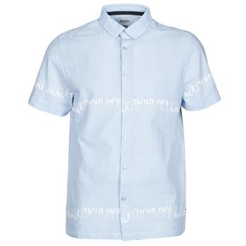 Kleidung Herren Kurzärmelige Hemden Kaporal STEVE Blau