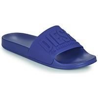 Schuhe Herren Pantoletten Diesel TRENFY Blau