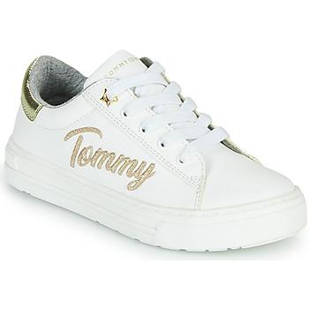 Schuhe Mädchen Sneaker Low Tommy Hilfiger SOFI Weiß