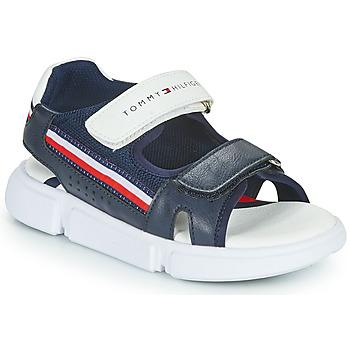 Schuhe Kinder Sandalen / Sandaletten Tommy Hilfiger TIFFOU Blau