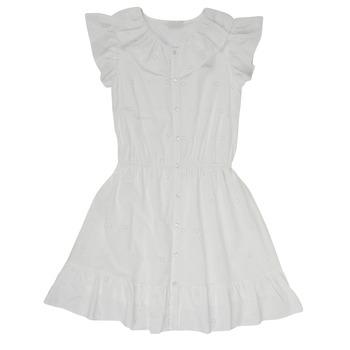 Kleidung Mädchen Kurze Kleider Name it NKFDORITA Weiß