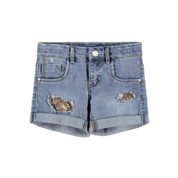 Kleidung Mädchen Shorts / Bermudas Name it NKFSALLI Blau