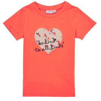 Abbigliamento Bambina T-shirt maniche corte Name it NMFDELFIN TOP