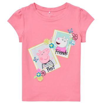 Vêtements Fille T-shirts manches courtes Name it PEPPAPIG