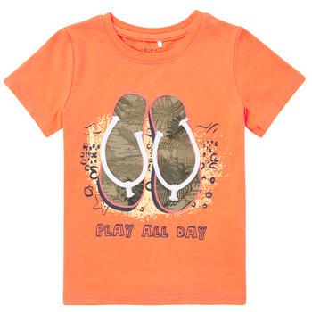 Vêtements Garçon T-shirts manches courtes Name it NMMFASHO
