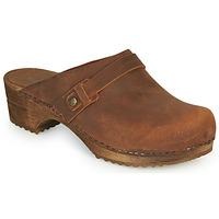 Schuhe Damen Pantoletten / Clogs Sanita URSANA Braun,