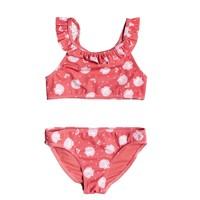 Abbigliamento Bambina Costume a due pezzi Roxy TEENY EVERGLOW CROP TOP SET