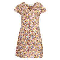 Kleidung Damen Kurze Kleider Molly Bracken P1387E21 Beige