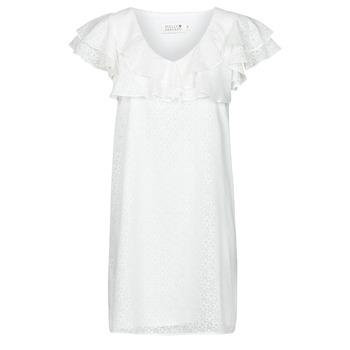 Kleidung Damen Kurze Kleider Molly Bracken LA700E21 Weiß
