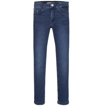 Vêtements Fille Jeans skinny Calvin Klein Jeans SKINNY ESS ROYAL BLUE