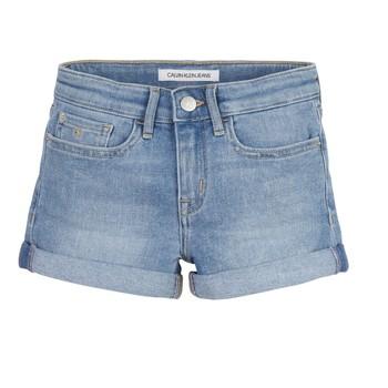 Vêtements Fille Shorts / Bermudas Calvin Klein Jeans SLIM SHORT ESS