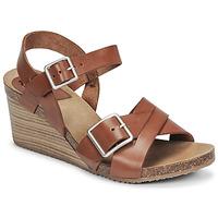 Schuhe Damen Sandalen / Sandaletten Kickers SPAINSTRAP Braun,