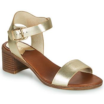Schuhe Damen Sandalen / Sandaletten Kickers VOLOU Gold
