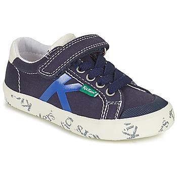 Schuhe Jungen Sneaker Low Kickers GODY Marineblau
