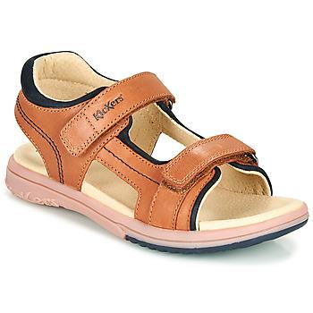 Chaussures Garçon Sandales et Nu-pieds Kickers PLATINO