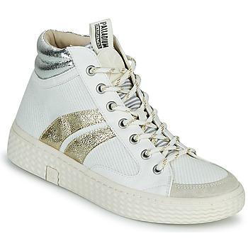 Scarpe Donna Sneakers alte Palladium Manufacture TEMPO 03 TXT
