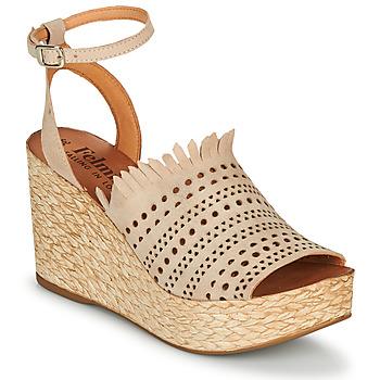 Schuhe Damen Sandalen / Sandaletten Felmini ALEXA Beige