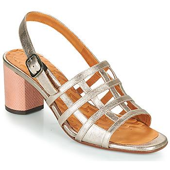 Schuhe Damen Sandalen / Sandaletten Chie Mihara HUNI Silbrig