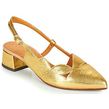 Schuhe Damen Pumps Chie Mihara R-RUNE Golden