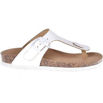 Chaussures Enfant Tongs Bionatura 22B 1010 Blanc