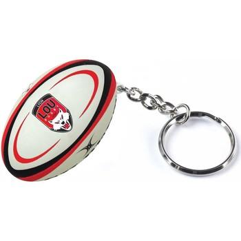 Accessoires textile Porte-clés Gilbert Porte clés rugby - LOU Rugby - Noir et Rouge
