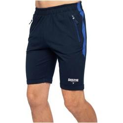 Vêtements Homme Shorts / Bermudas Shilton Short de sport molleton Bleu marine